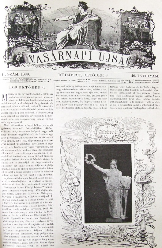 Vasárnapi Ujság - 1899. október 8.