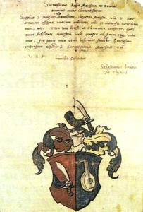 Tinódi Sebestyén címere