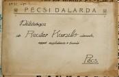Pécsi Dalárda levele Reuter Camillonak