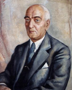 8. kép. Gábor Jenő 1936-ban készült festménye Mansfeld Gézáról